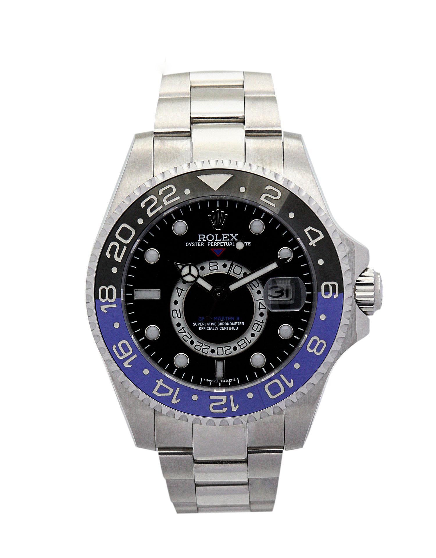 Rolex GMT Master 16720 40MM Black Dial width=500