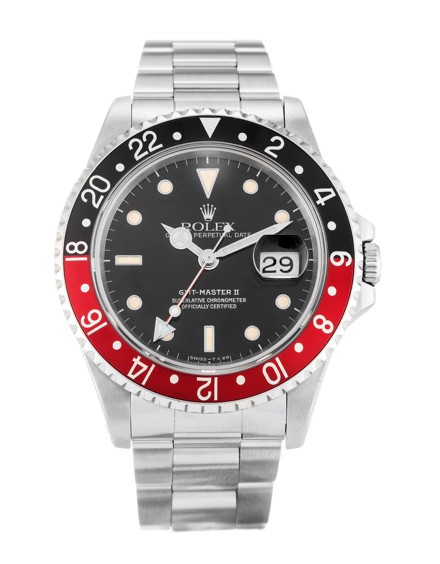 Rolex GMT Master II 16710 Coke 40MM Black Dial width=500