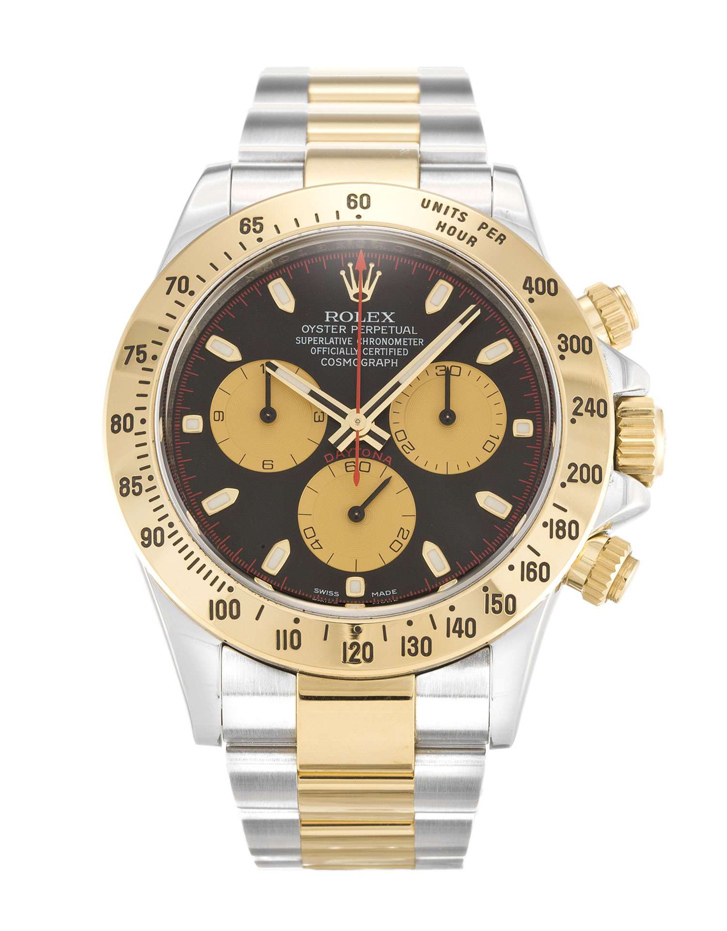 Rolex Cosmograph Daytona 116523 Rolesor Black Dial width=500