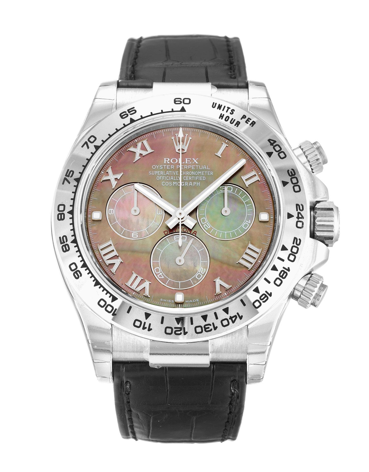 Rolex Cosmograph Daytona 116519 40MM Black Dial width=500