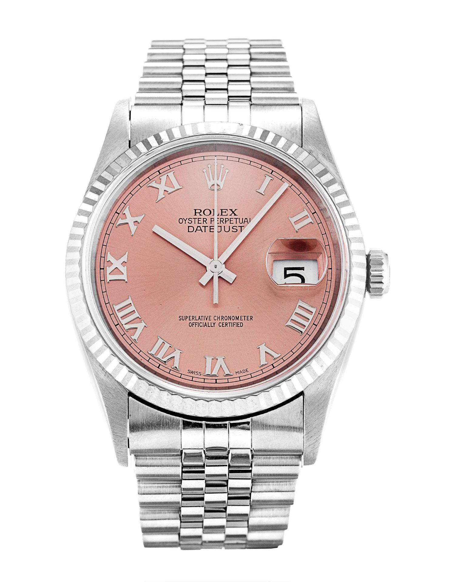 replica Rolex Datejust 16234 36MM Pink Dial