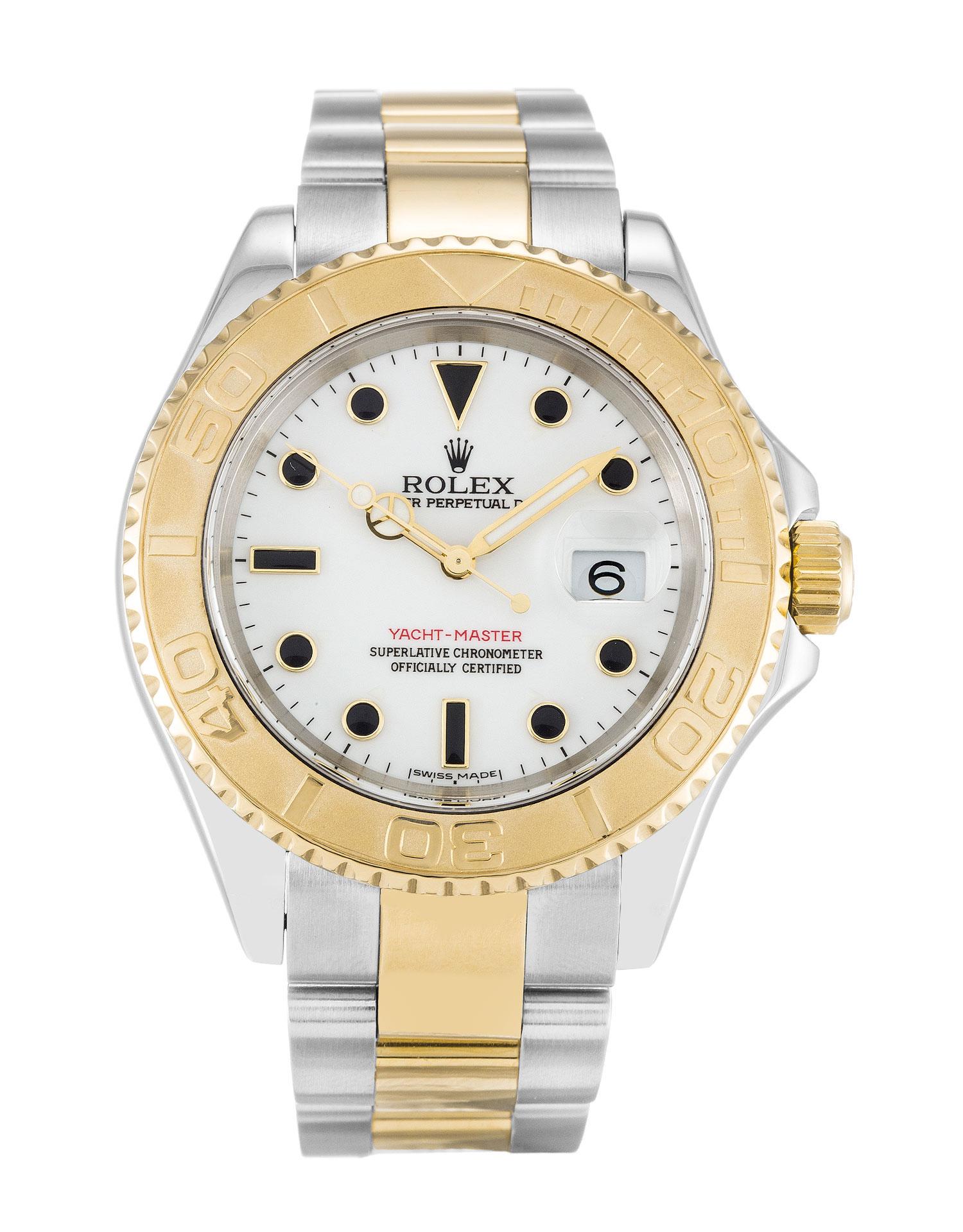 replica Rolex Yacht-Master 16623 40MM White Dial
