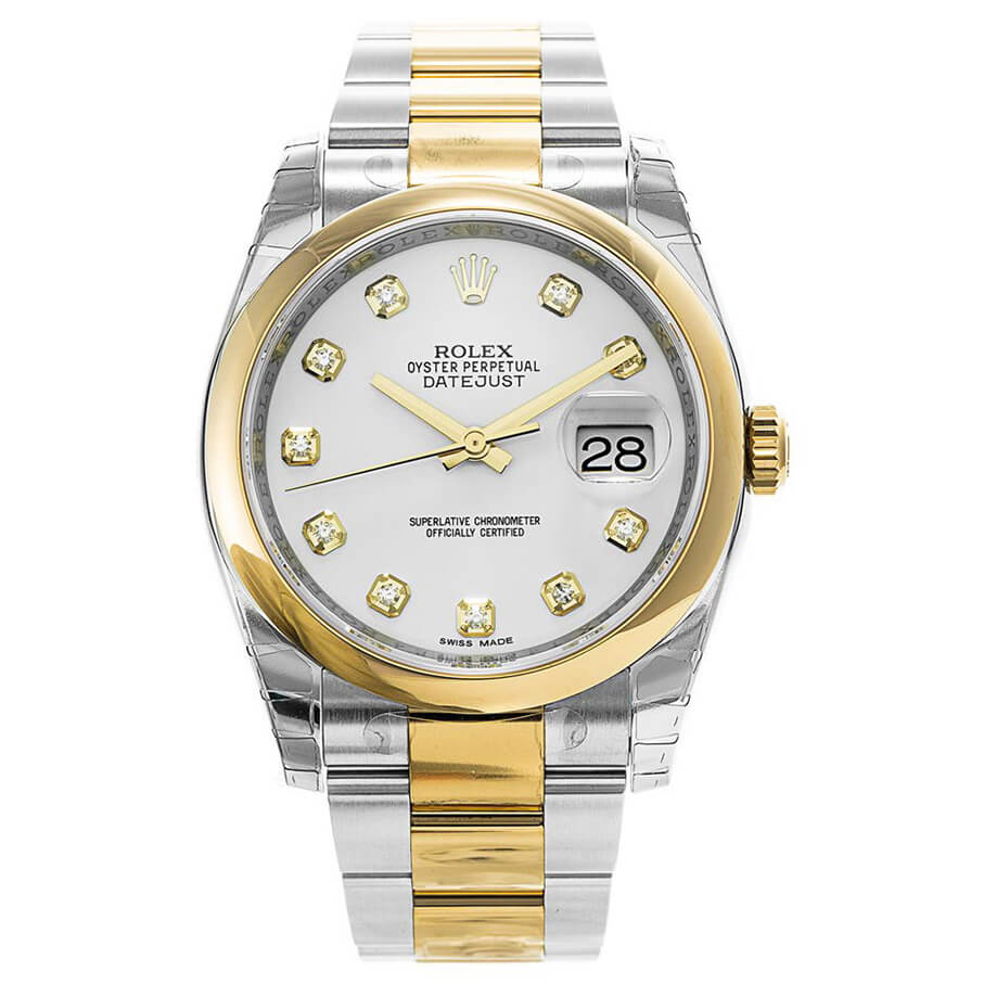 Cheap Replica Datejust Automatic Domed Bezel Top Watch 116203