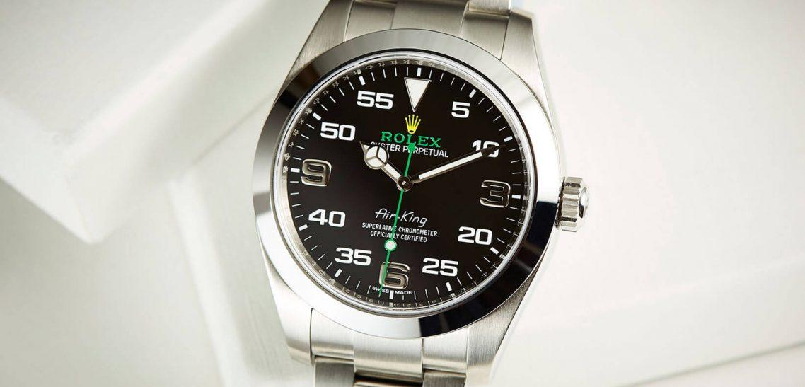Introduce Replica Rolex Air-King 116900 Black Dial