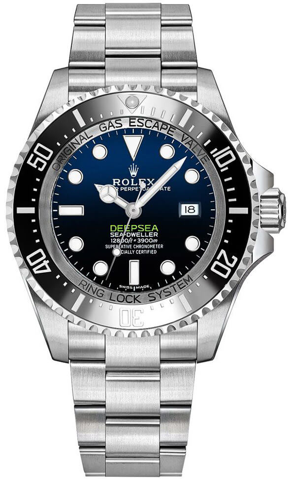 Best Replica Rolex Deep-sea Sea-Dweller D-Blue 116660