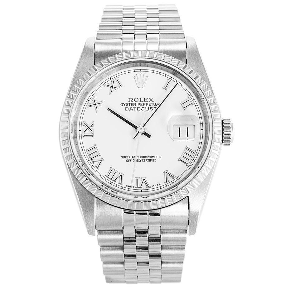 replica Rolex Datejust 16220 36MM White Dial