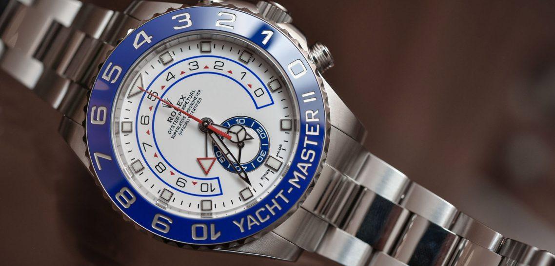 Sports Rolex Replica Yacht-Master Automatic 116680 White Men