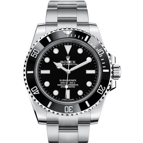 Best Replica Rolex Submariner No Date 114060 Black Dial -
