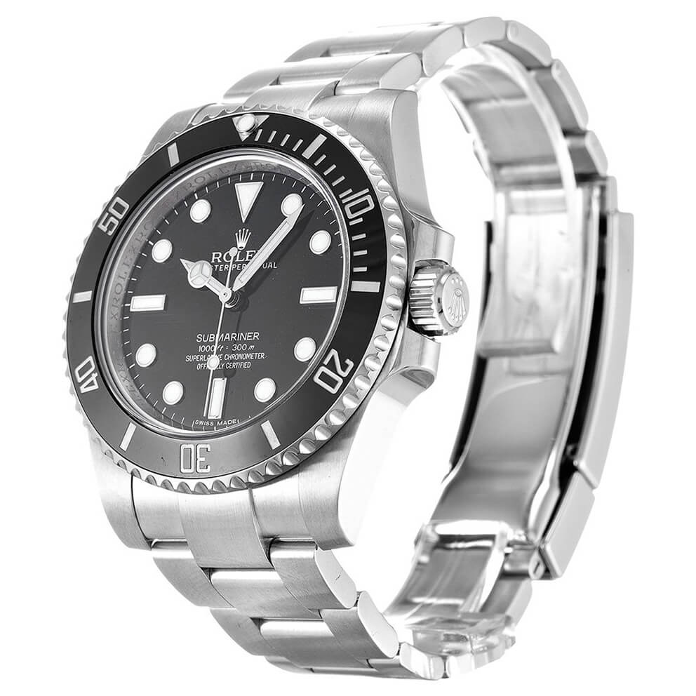 Best Rolex Watch Replica Submariner No Date 114060 Black Dial