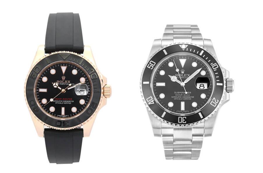 Dark Black Replica Rolex Perfect Watches(Part One)