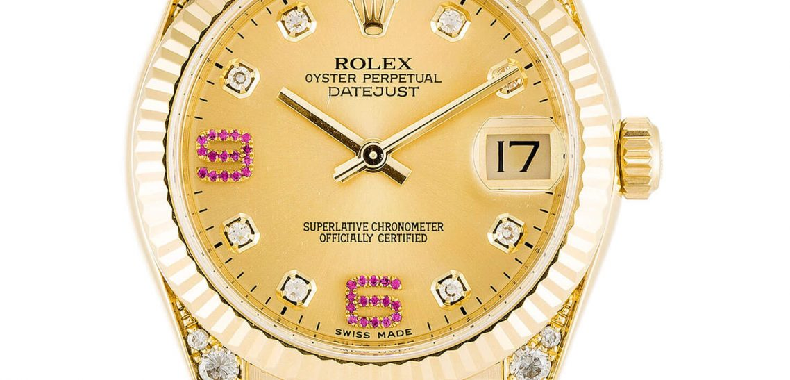 Luxury Replica Rolex Datejust 178238 31mm Champagne Dial