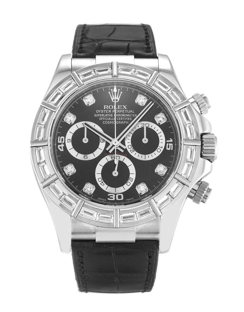 Perfect Rolex Replica Cosmograph Daytona 116589BR 40mm Black Dial