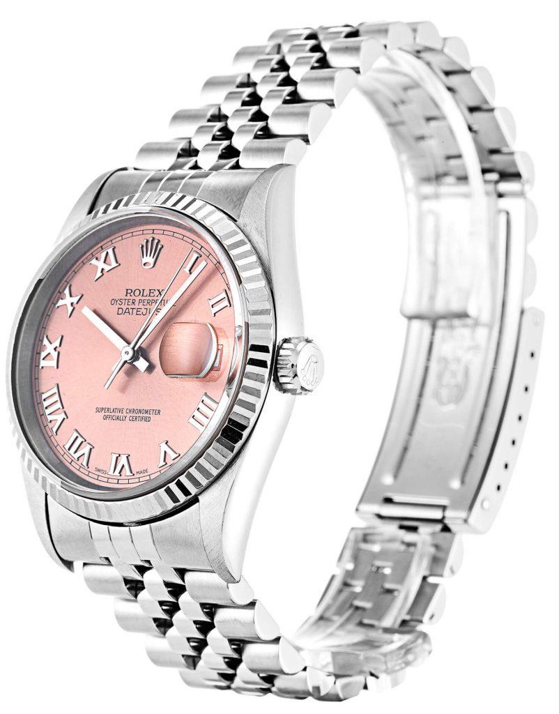 Pink Rolex Replica Datejust 16234 36mm-classic