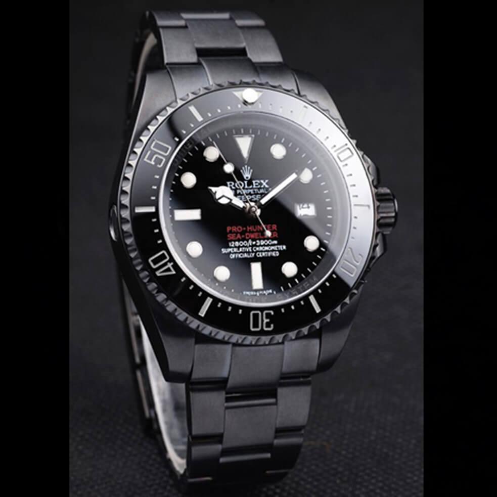 Replica Rolex Deepsea Mens Automatic Ion-Plated RDE004