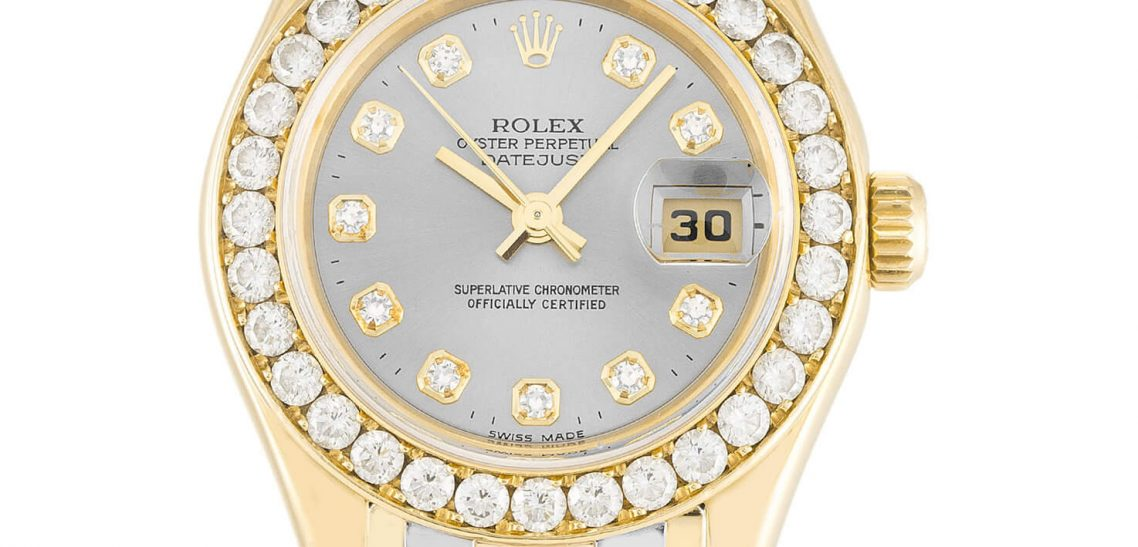 Replica Rolex Watch Pearlmaster 80298 29mm Champagne Dial