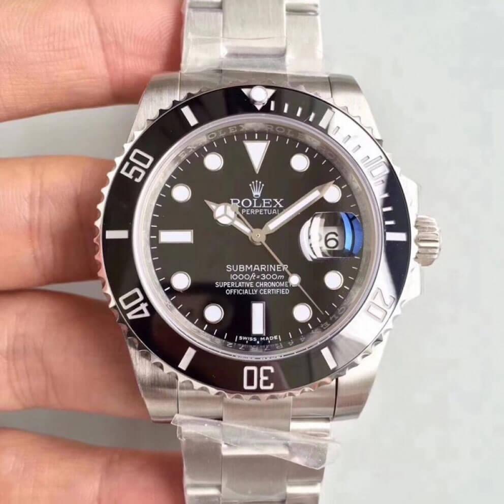 Rolex Fake Submariner 116610LN 40MM Black Dial