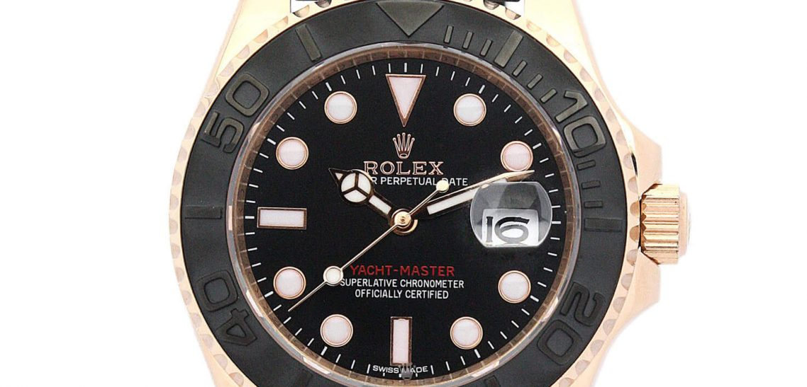 Replica Rolex Watch Perfect Yacht-Master 169622 35mm Black Dial
