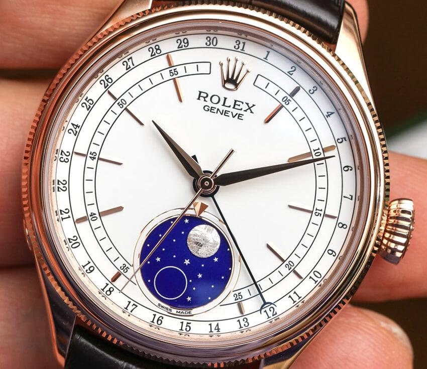 Rolex Replica Cellini Perfect Moonphase 50535 39mm White Dial-2
