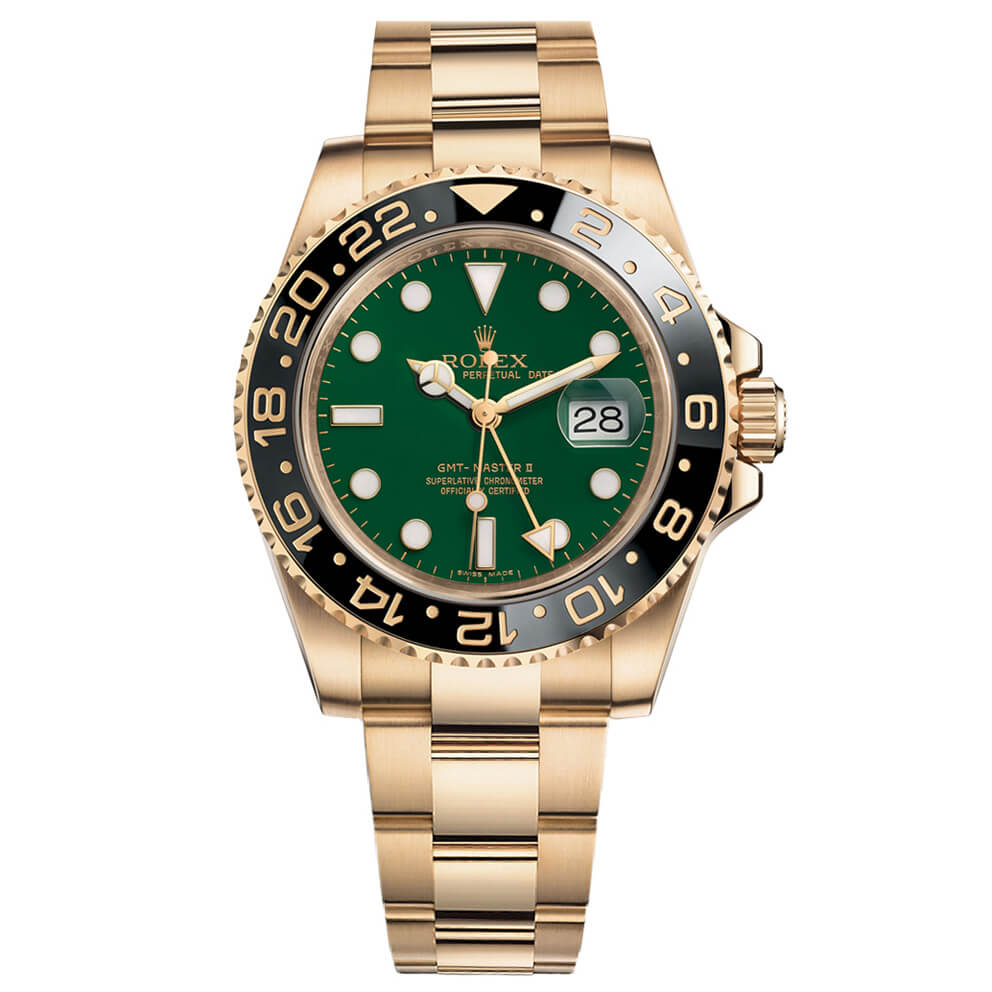 Rolex Replica GMT-Master II 116718GSO 40mm Green Dial