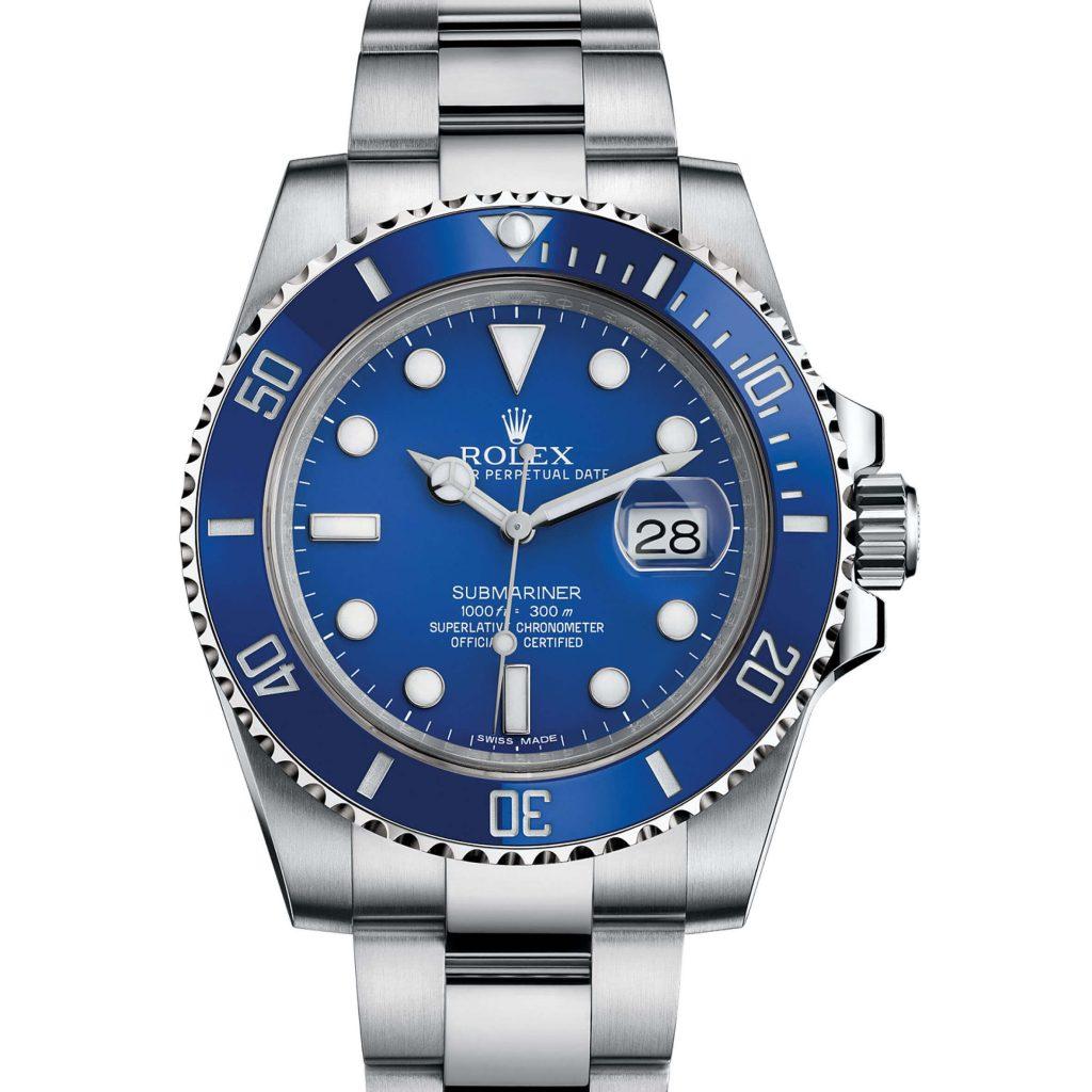 "Top Rolex Submariner 116619LB ""Smurf"" Blue Ceramic White Gold"