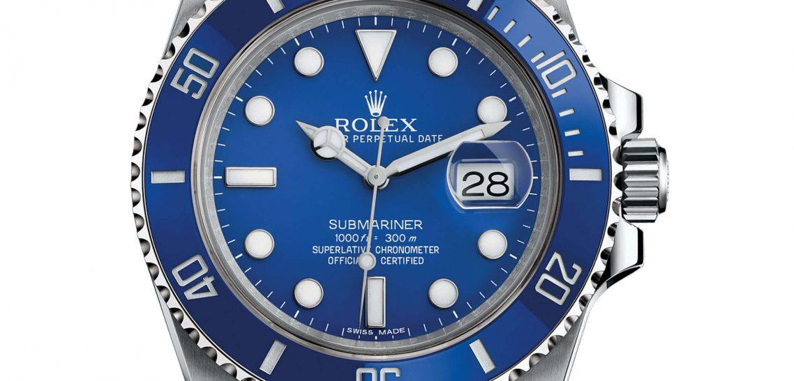 "Top Replica Rolex Submariner 116619LB ""Smurf"" Blue Ceramic White Gold"