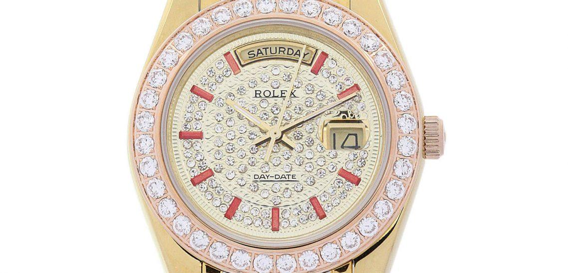 Replica Rolex Day-Date 118346 Gold Dial