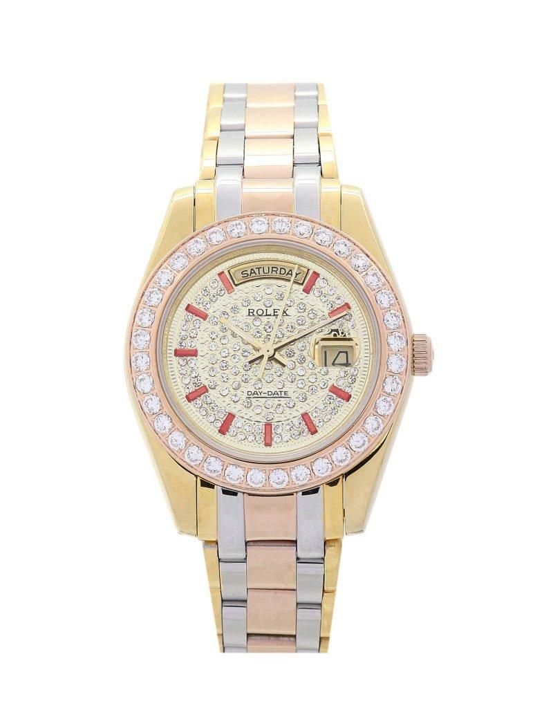 Replica Rolex Day Date 118346 Gold Dial