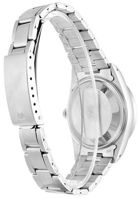 Replica Rolex Oyster Perpetual Date 15210 34mm Silver Dial