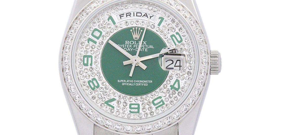Replica Rolex DayDate 118346 36mm Silver Dial