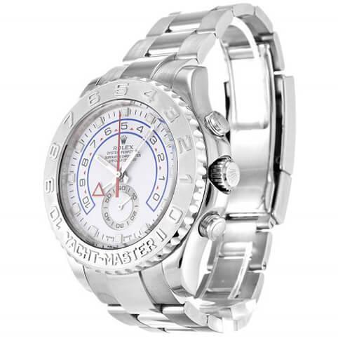 Rolex Replica Yacht-Master 116689 44MM White Dial