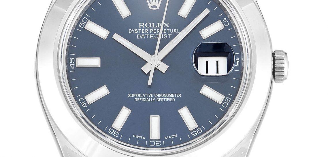 Replica Rolex Datejust II 116300 41mm Blue Dial