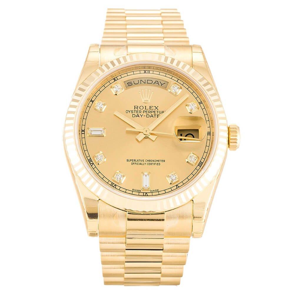 Replica Rolex Day-Date Gold 118238