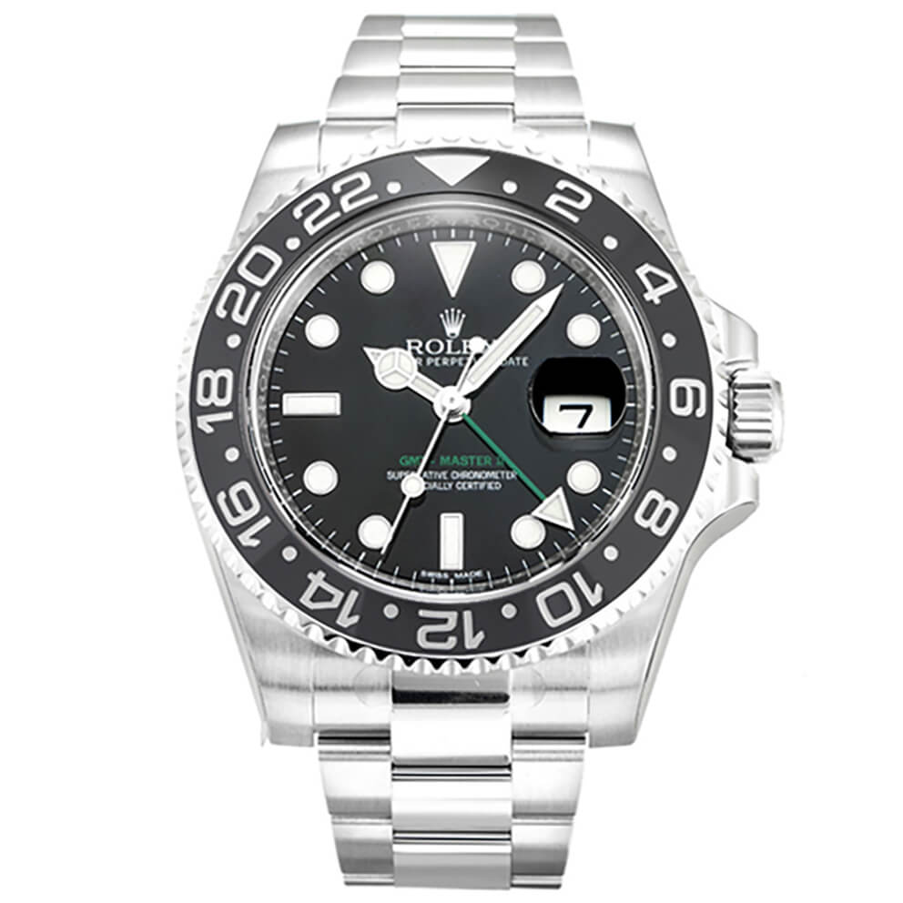 Replica Rolex GMT Master II 116710 Black Dial