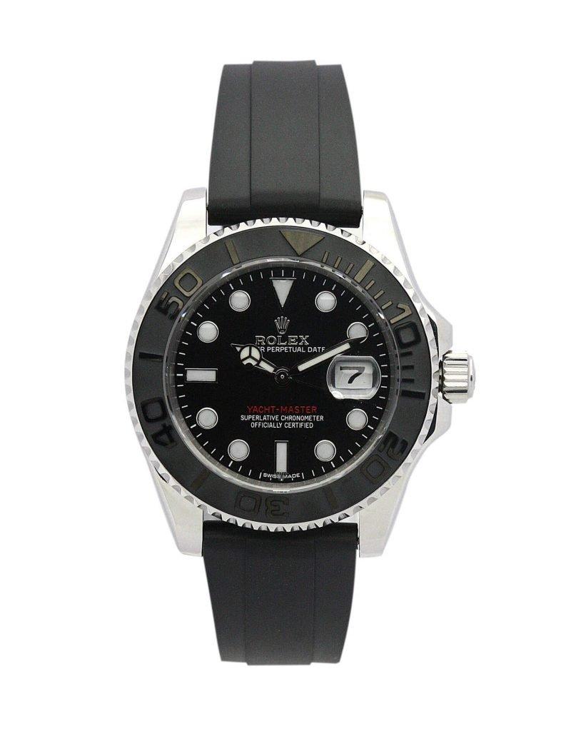 Replica Rolex Yacht-Master 169622 Black Dial