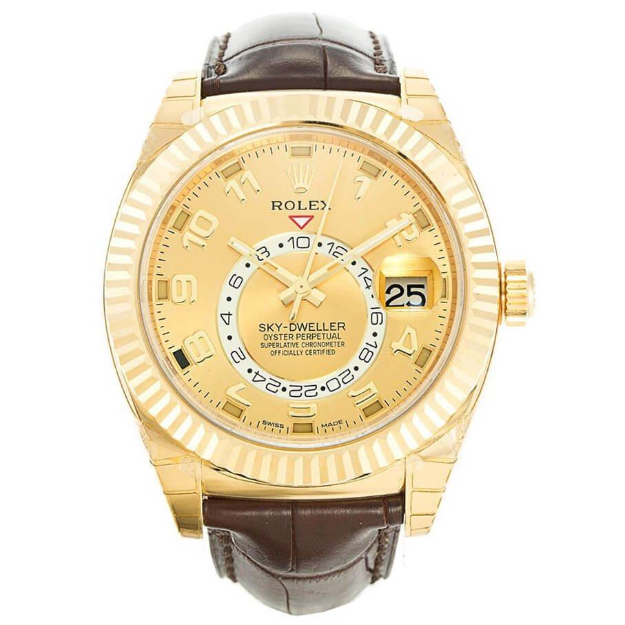 Rolex Replica GMT Master and Sky-Dweller Comparison