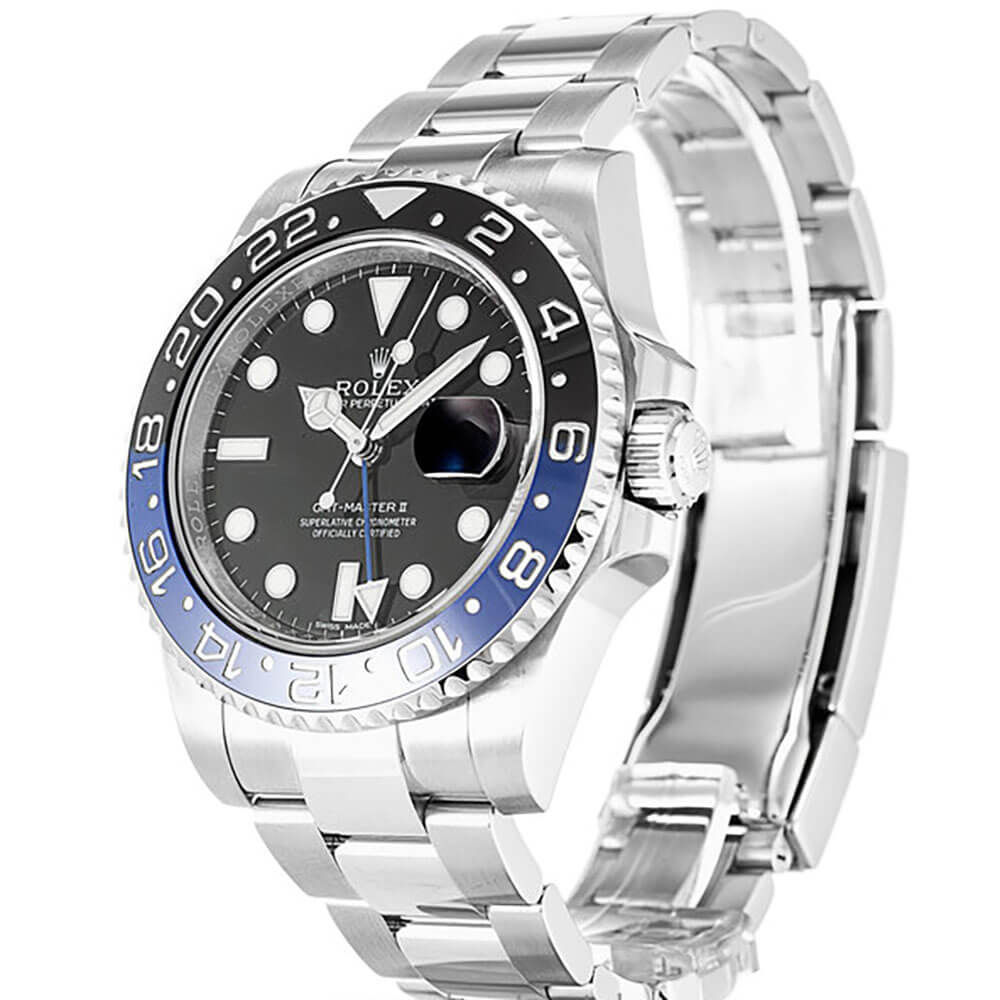 Replica Rolex GMT Master II Watches Blue and Black