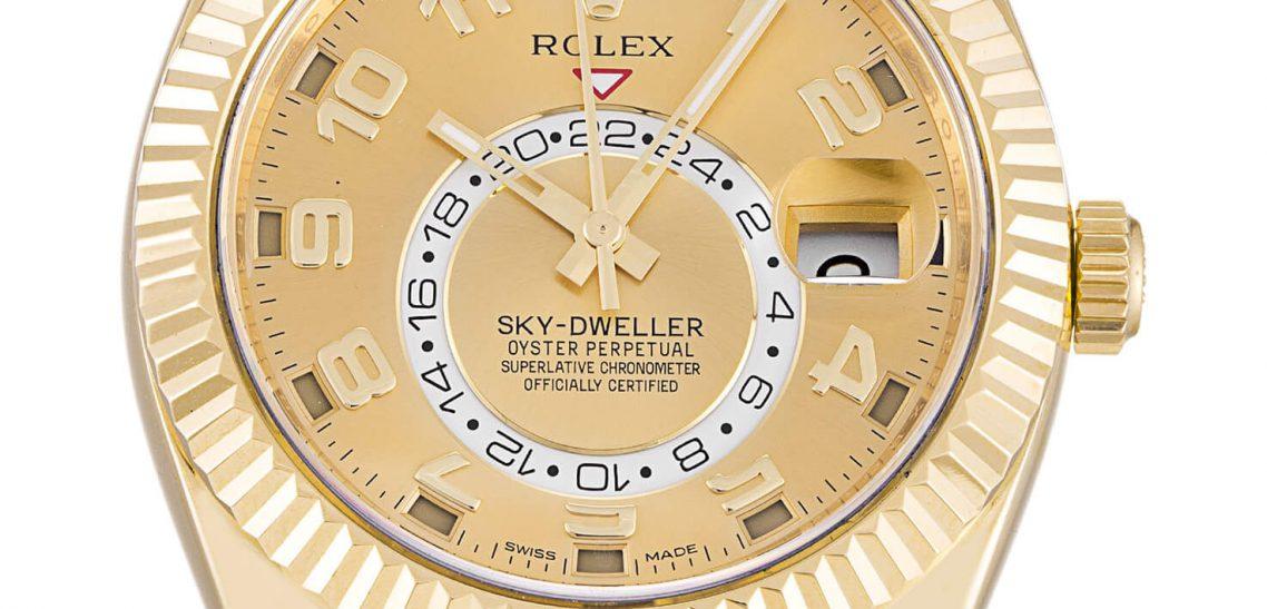 How is Replica Rolex Sky-Dweller